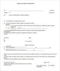 Sample Eviction Notice Letter South Africa Lezincdc Com