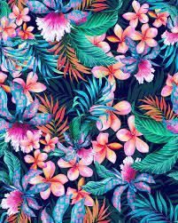 Hawaiian Floral Backgrounds ...