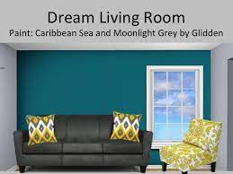 accent walls in living room