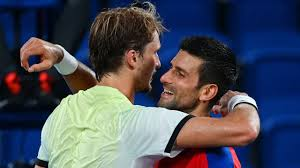 The winner will play stefanos tsitsipas or alexander zverev in sunday's final. Wg0sui3kxosc2m