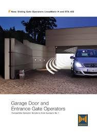 operator brochure abi garage doors