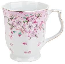 <b>Best Home Porcelain Кружка</b> Яблоневый цвет 350 мл — купить по ...