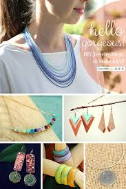Jewelry Designs Diy Hello Gorgeous Diy Jewelry Ideas To Make Asap Favecrafts