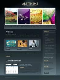 Art Gallery Website Template Free Best Templates Online