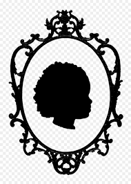 vintage mirror drawing. Picture Frames Mirror Vintage Clothing Drawing Clip Art - Silhouette Border 1143*1600 Transprent Png Free Download Frame, Visual Arts, Flower.