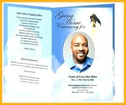 microsoft office funeral program template fold obituary template free design example sample funeral templates