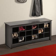 Decorating black shoe cabinet with doors pictures : Mudroom : Entry Bench Seat Small Entryway Bench With Shoe Storage ...