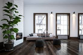 Dark wood floors Wide Plank Dark Wood Impressive Interior Design Designers Top Tips For Finding Your Ideal Hardwood Flooring