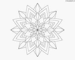 Kleurplaten Mandala Bloemen Samples Natuur Kleurplaat