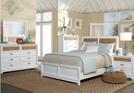 white beach bedroom furniture. picture of coastal view 5 pc queen bedroom from sets furniture white beach a