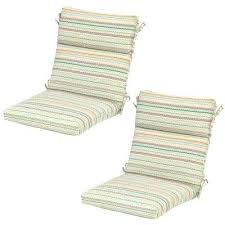Striped Outdoor Chair Cushions Stripe Outdoor Dining Chair Cushion