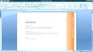 Microsoft Office 2007 Templates Download Ms Office Word Resume Templates Dreaded Sample Template Microsoft