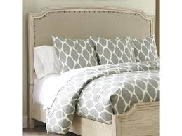 panel headboard king. Wonderful Panel Signature Design By Ashley DemarlosKingCal King Upholstered Panel Headboard   And L
