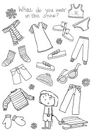 Free Printable Coloring Pages Clothing With