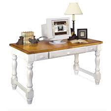 charming white office. Charming Wooden Computer Desk In White And Peru By Kathy Ireland Furniture For Home Office Ideas S