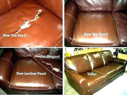 how to patch a hole in leather couch re furniture fix sofa repairing seam refinish tear
