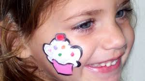 easy face painting cheek designs for beginners