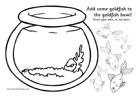 Small Picture Fish Bowl Coloring Pages Printable Coloring Sheet Anbu