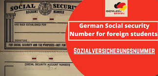 How can i get my social security card. German Social Security Number For Foreign Students In Germany German Brain