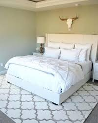 queen bed rug size geometric pattern area rug under a full size bed master bedroom queen