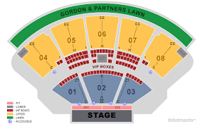 Coral Sky Amphitheatre Virtual Seating Chart 75 Punctilious Cruzan Amphitheatre Seating Chart Detailed
