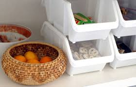 Diy kitchen projects Small Kitchen Snack Storage Daily Burn 12 Diy Kitchen Projects To Clean Up Your Eating Habits