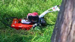 how to use a walk behind brush mower the samurai brush cutter you