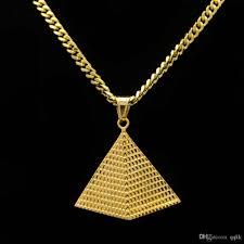 whole men jewelry egyptian pyramids greek necklace religious