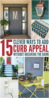 Garden Design Garden Design With Easy And Cheap Curb Appeal Ideas Cheap Curb Appeal