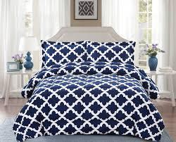 navy pillow shams. Plain Navy Comforter With Pillow Shams Goose Down Alternative Ultra Soft Microfiber  Navy Blue Color Intended E