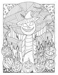 Halloween Coloring Page From Haunted Treasure