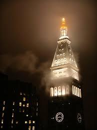 file metropolitan life insurance company tower at night with fog jpg