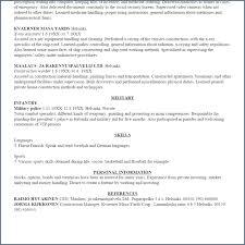 How To Make A Resume On Word 2003 Ceciliaekici Com