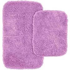 purple bathroom rug sets jazz purple in x in washable bathroom 2 piece rug set dark