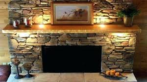 rock fireplace river inspiration designs pictures faux cast stone surround before