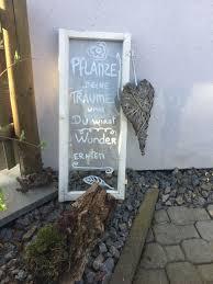 Fenster Kreide Schrift Garten Altes Fenster Gartendeko Sprüche