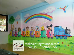 we are specialized in playschool wall painting we have 18 years experience of splayschool wall painting in all over india call us 91 9221686556