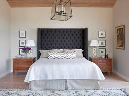 gray full headboard.  Headboard Dark Gray Grey Upholstered Headboard Tufted Linen Neutral Bed Bedroom  Natural Wood 2016 Long Lumbar Pillow Body With Gray Full Headboard