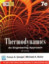 Thermodynamics : An Engineering Approach (SI Units) (English) 7th ...