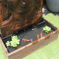 modern water features outdoor garden fountains