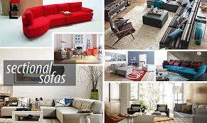 modern sectional sofas for a stylish