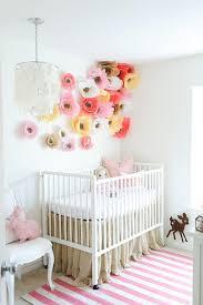 makemn paper flower decorating idea baby nursery decorating furniture with paper3 furniture