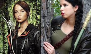 the hunger games katniss everdeen makeup hair costume