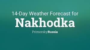 Nakhodka, Russia 14 day <b>weather forecast</b>