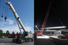 Stevenson Crane Service Telescopic Crawler Cranes Lattice