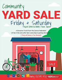 Free Yard Sale Flyer Template Word Psd Apple Pages
