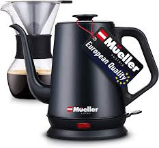 Electric kettles provide you with and easy and fast way of preparing tea. Amazon Com Mueller Coffee Serving Set Electric Gooseneck Kettle With Pour Over Drip Set Coffee Maker Stainless Steel Coffee Servers Kettle Tea Kettle Matte Coffee Serving Sets