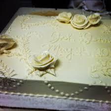 Wedding Sheet Cake Square Cakes Andrea s stuff