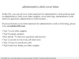 Cover Letter For Admin Clerk Cover Letter Admin Assistant Cover Letter For Admin Cover Letter For