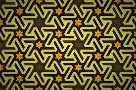 Cool Tessellations Designs Free Japanese Tessellation Star Wallpaper Patterns